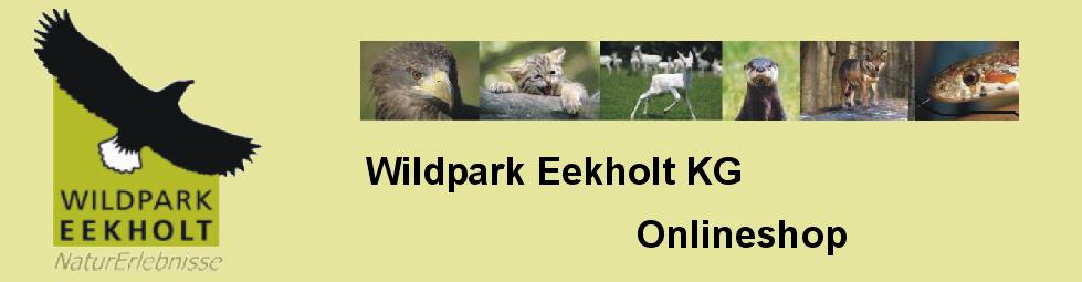 Onlineshop Wildpark Eekholt KG